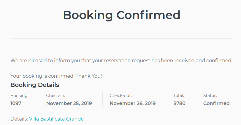 confirmed bookings make a user a subscriber