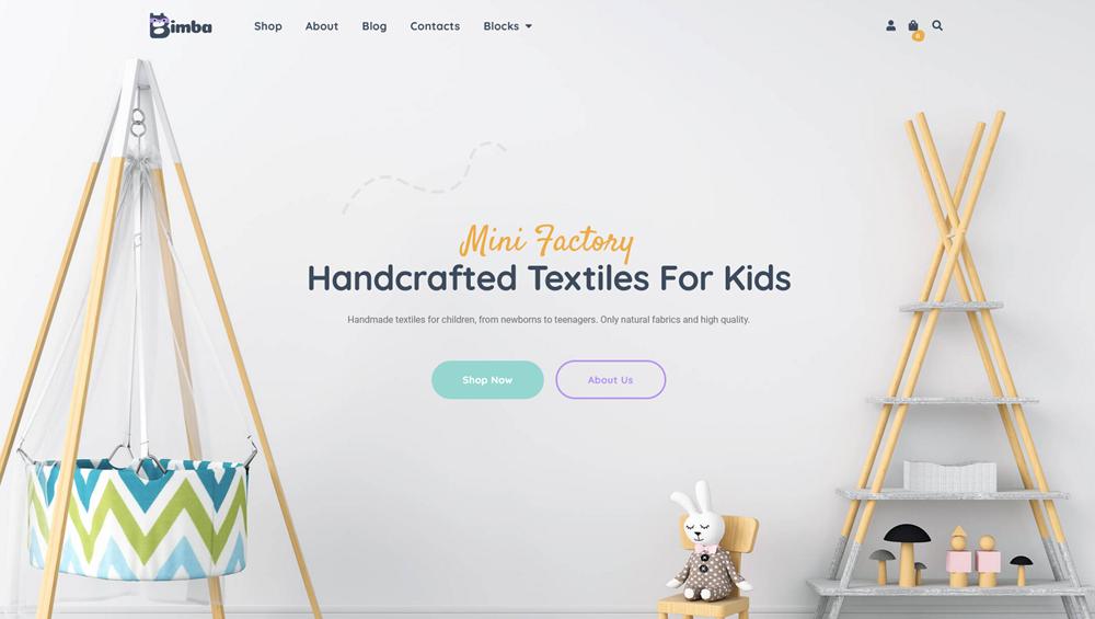 handcraft wp theme
