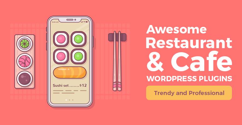WordPress food menu plugin