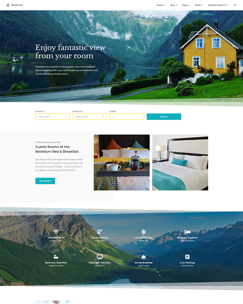 Bed-and-Breakfast-Booking-WordPress-Template