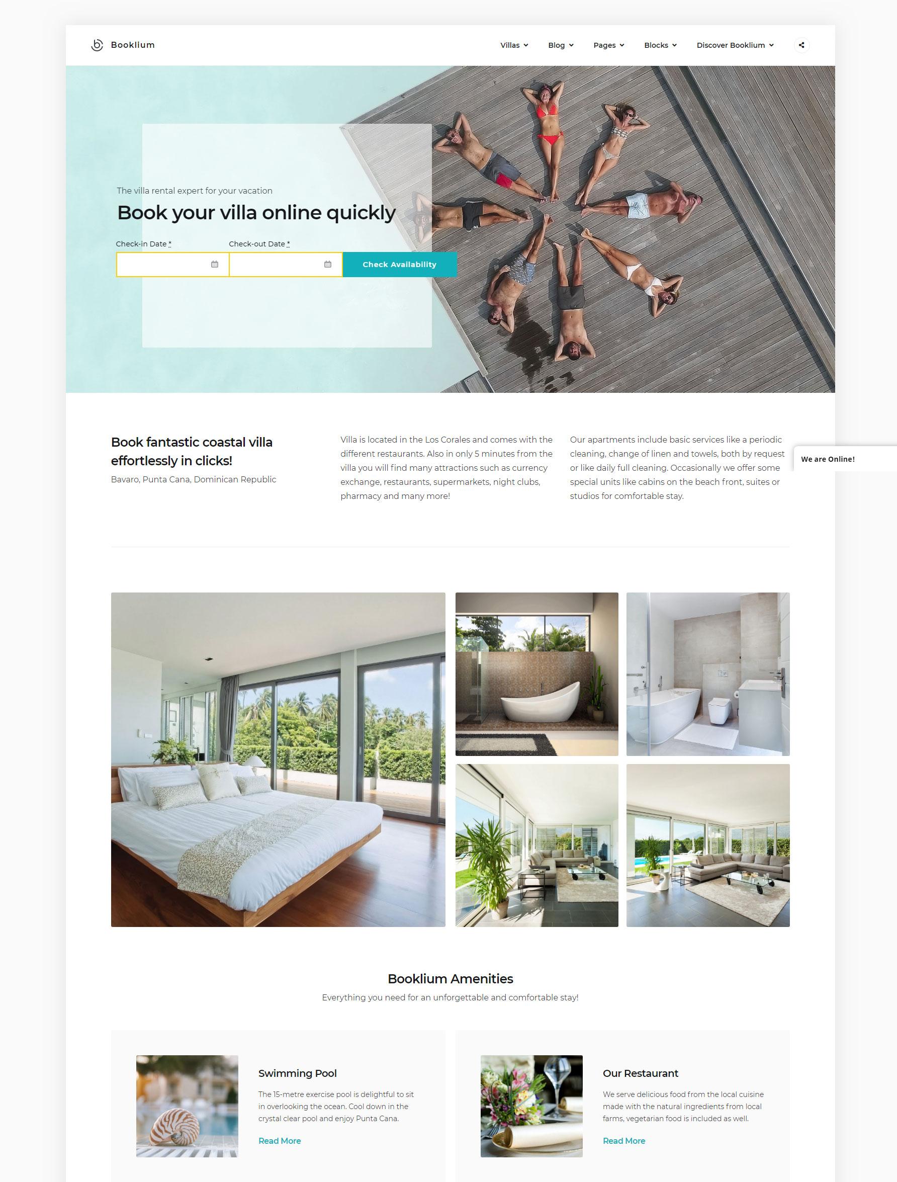 Booklium-single-vacation-rental-theme