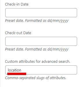 Property Management WordPress theme custom-attributes