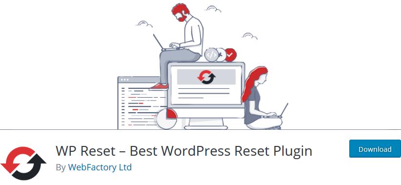 wp reset web factory