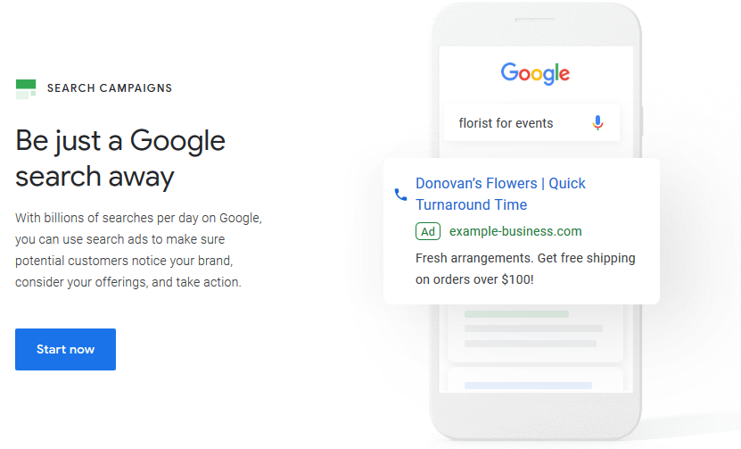 Pay Per Click (PPC) Google Ads