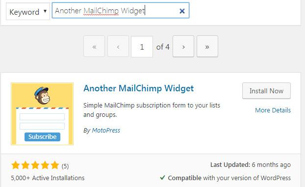 another-mailchimp-widget-wordpress