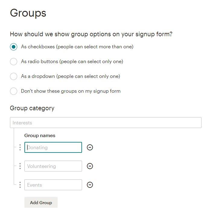 create-groups-mailchimp