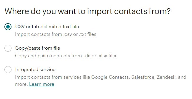 import-list-mailchimp