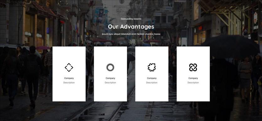 logo showcase template block designs