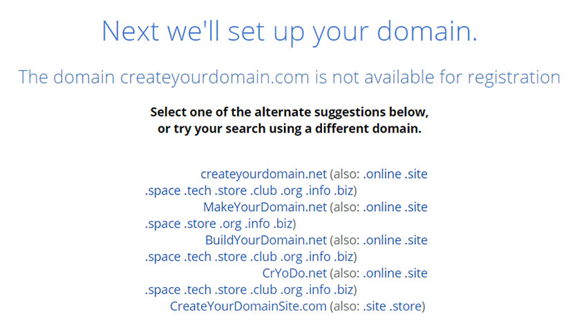 select-your-domain
