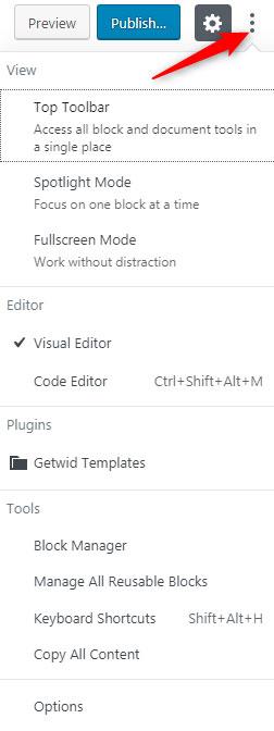settings-for-wordpress-gutenberg