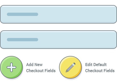 Add New or Edit Default Checkout Fields
