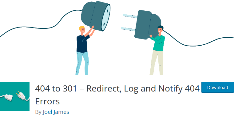 404 to 301 – Redirect, Log and Notify 404 Errors