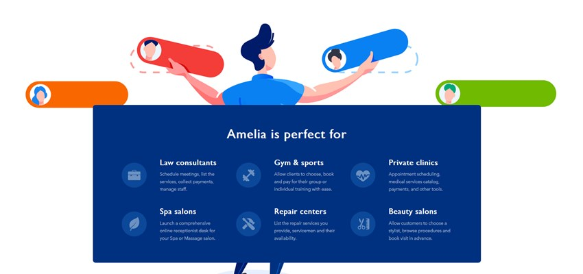 amelia appointment booking wordpress