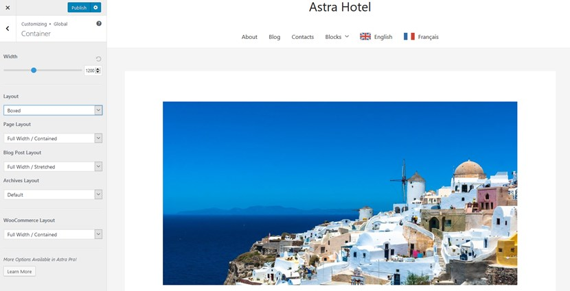 astra hotel layouts