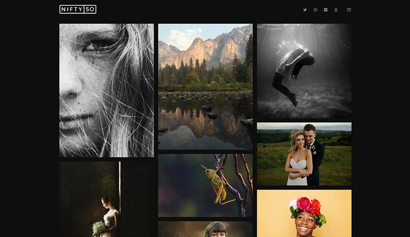 Niftyfifty-WordPress-photography-theme