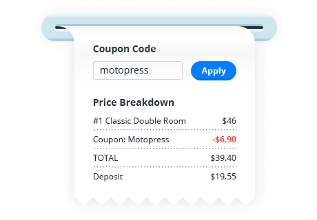 Discount Coupons in WordPress Hotel Booking Plugin