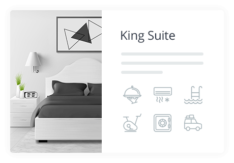 Property Presentation: Amenities, Image Gallery, Rates in WordPress hotel booking plugin