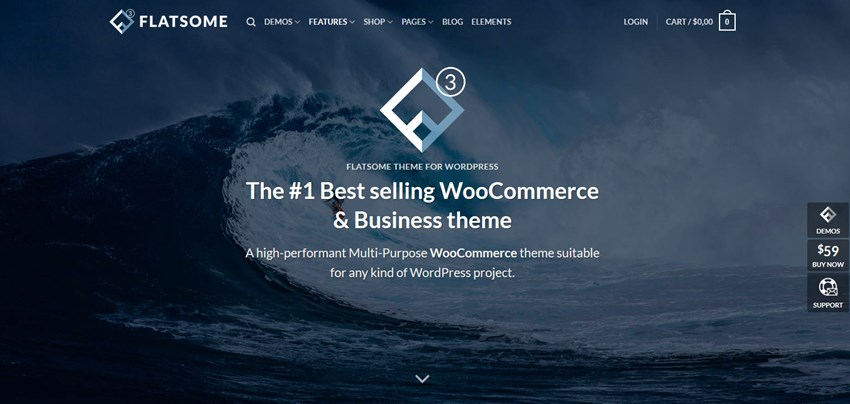 flatsome theme top wp themes