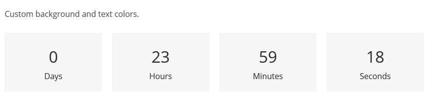 palmeria countdown timer