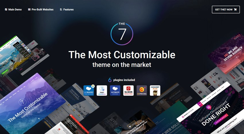 the 7 theme top wp theme