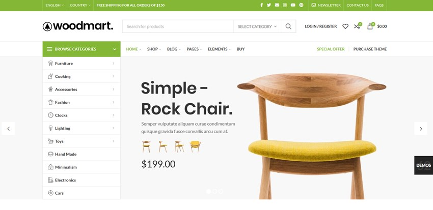 woodmart top wp themes