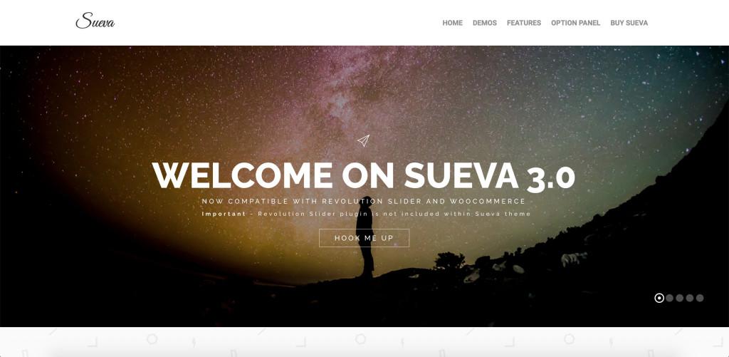 SuevaFree WordPress Theme