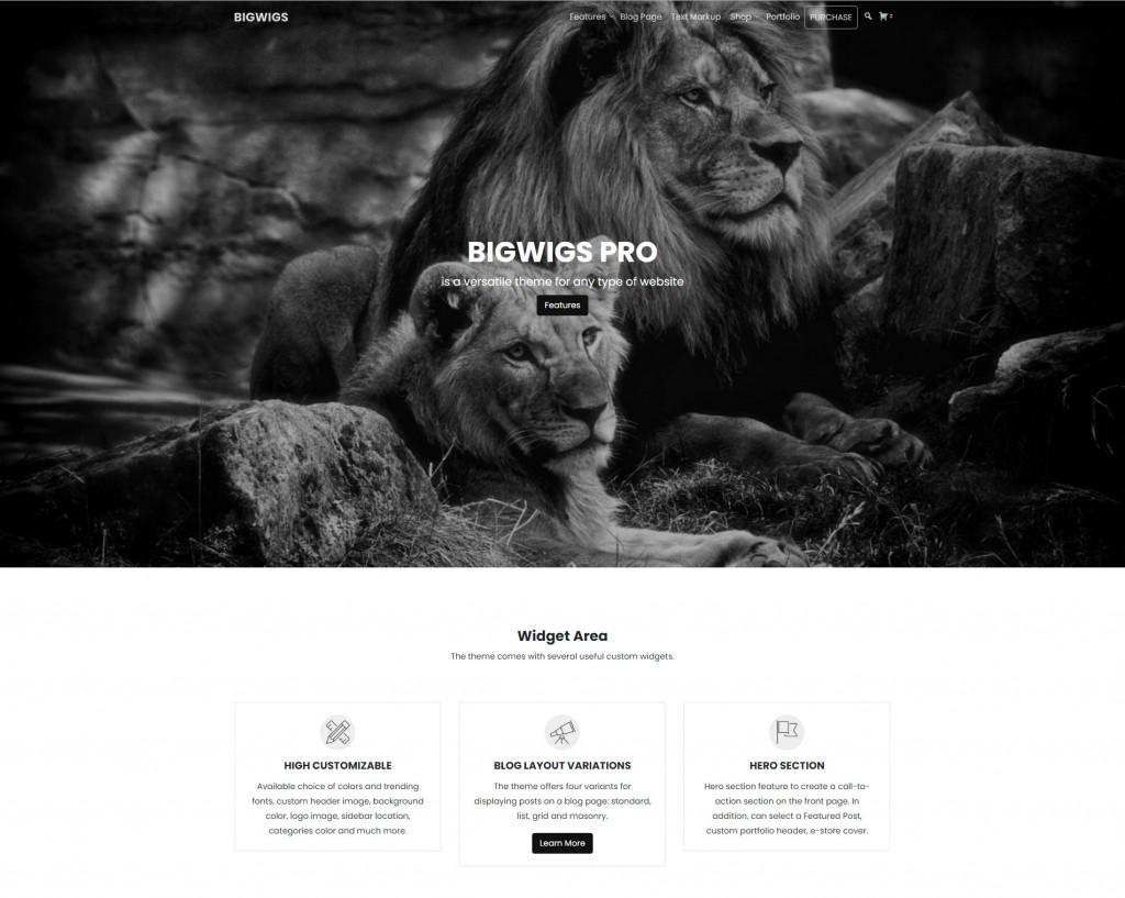 Bigwigs WordPress Theme