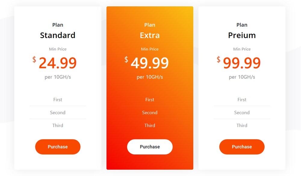 pricing table elementor widget stratum