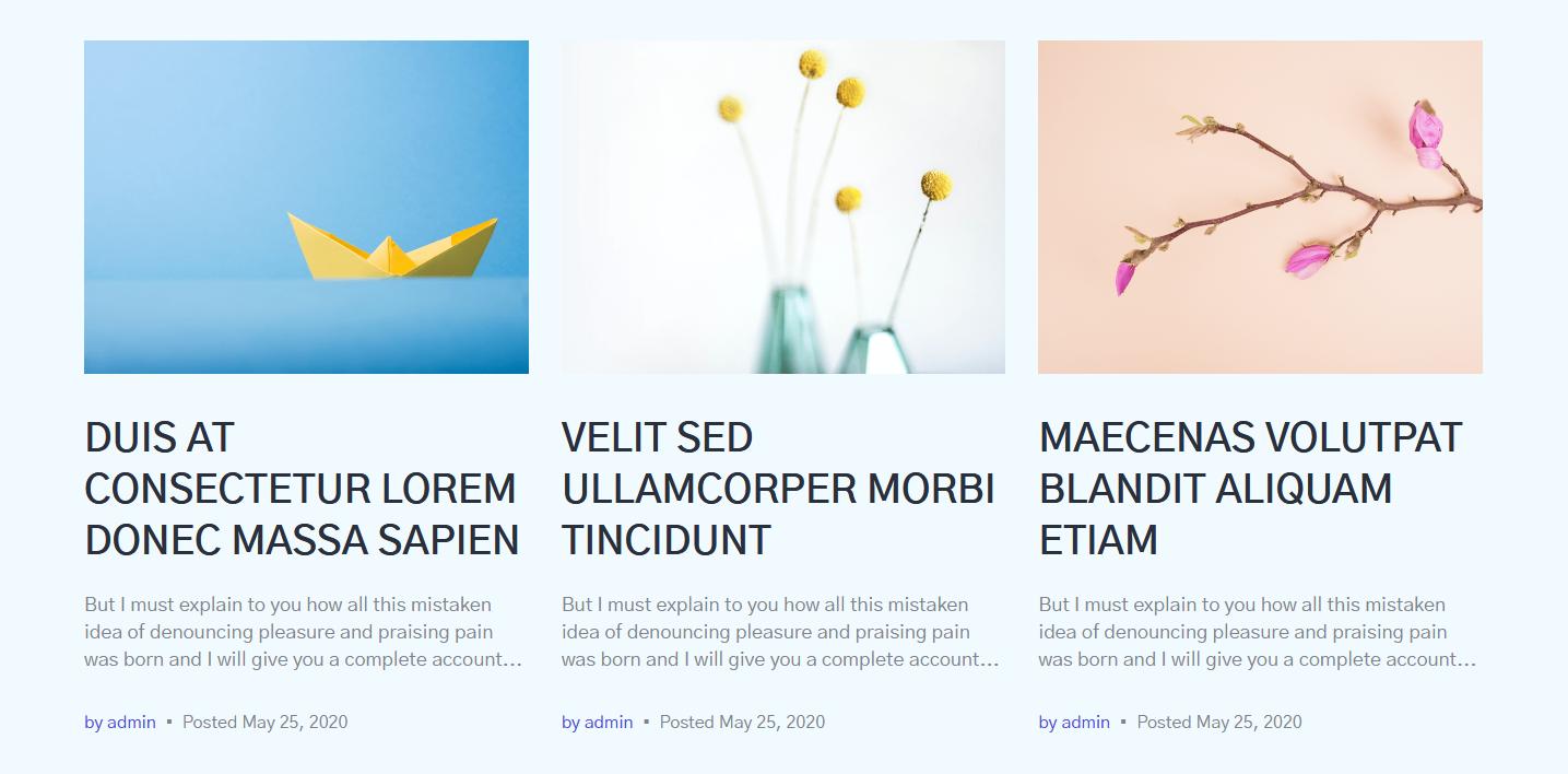 gutenix blog layout