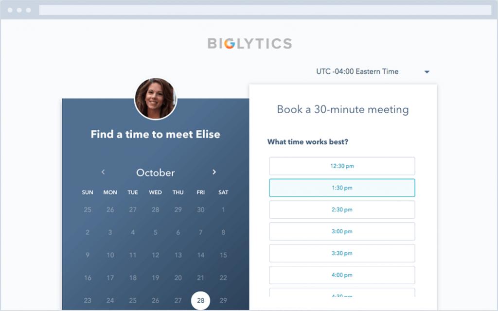 hubspot wordpress plugin scheduling app