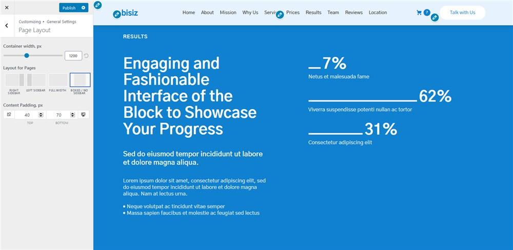 page layouts gutenix multipurpose wp theme
