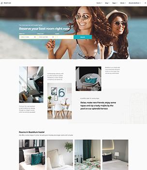 hotel airbnb wordpress clone