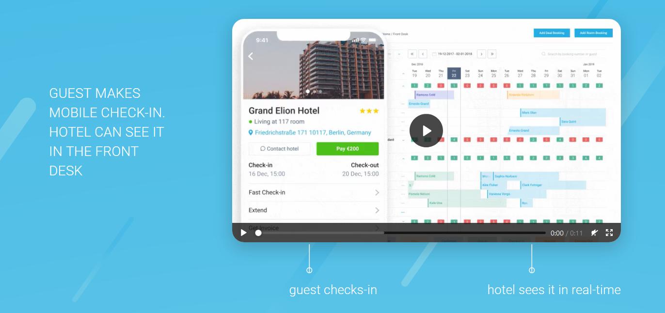 hotelfreind app - check in strategies