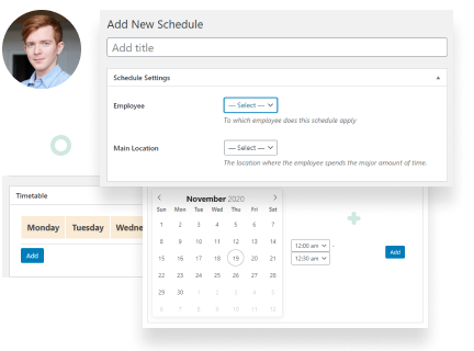 Flexible Employee Schedules: Lock Out Hours, Add Breaks & Holidays