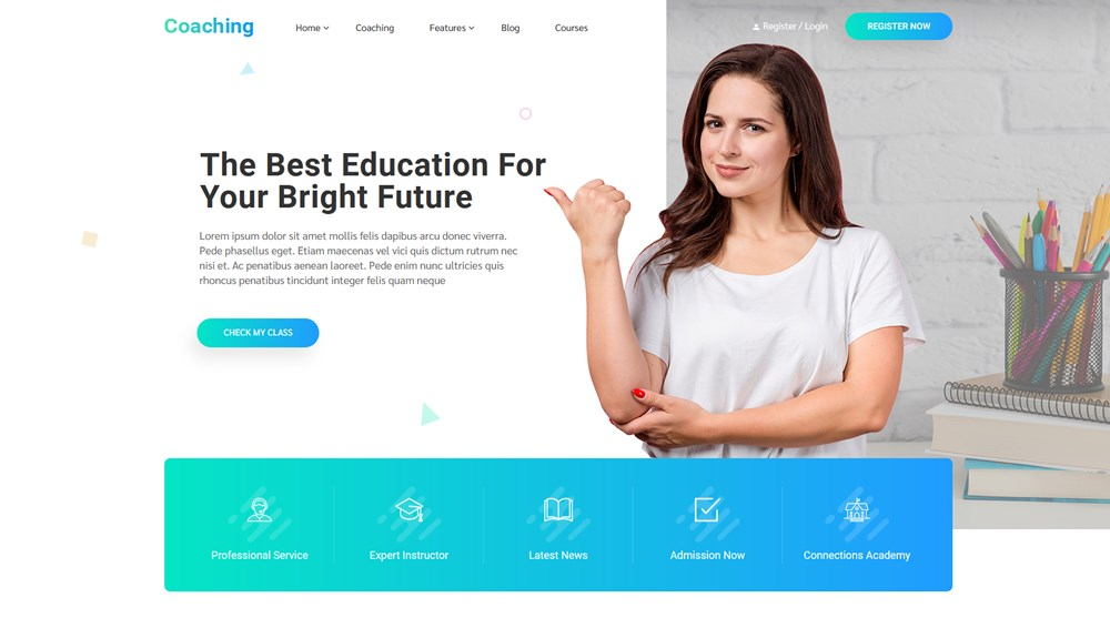 choaching colead wp education theme