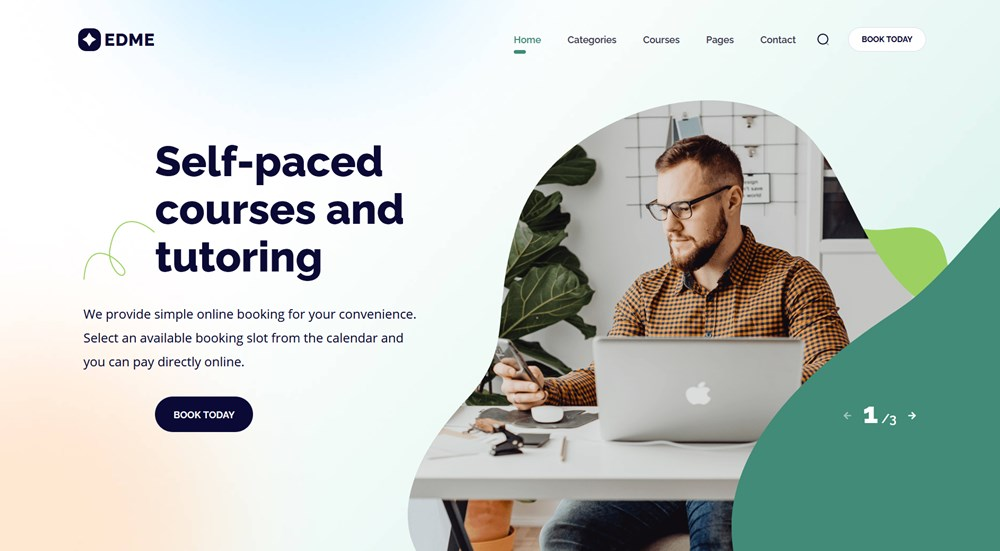 edme education wordress theme