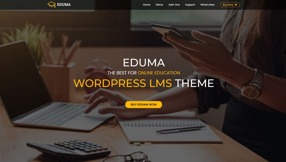 eduma wp education theme