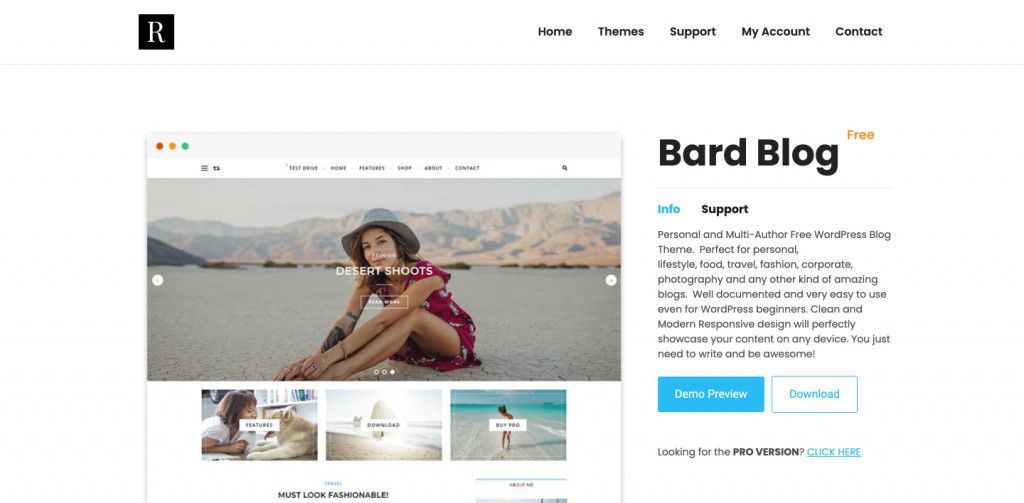 Bard WordPress Theme