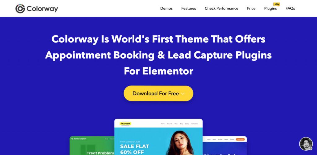 ColorWay Elementor Theme