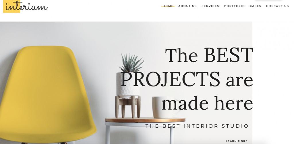 Interium WordPress Elementor Theme