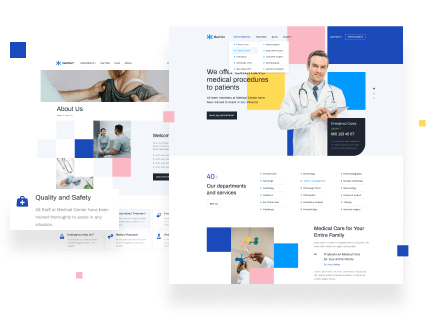 WordPress Medical Theme for Doctors & Healthcare Industries