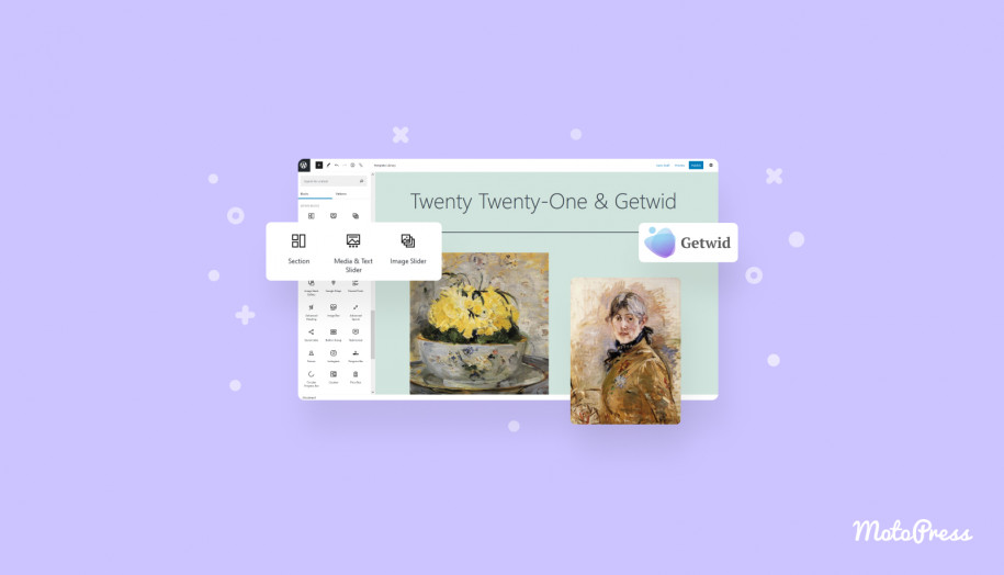 twenty twenty one theme getwid