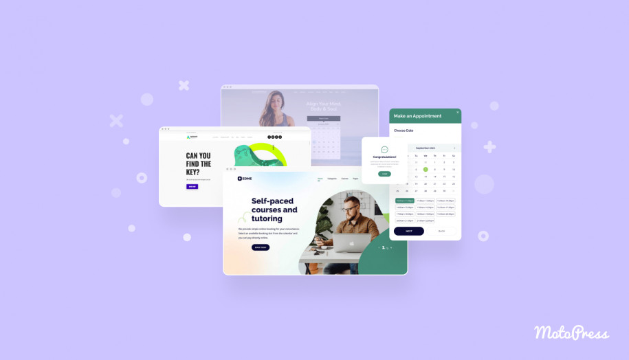 wp appointment booking themes