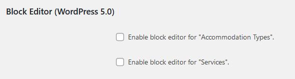 disable block editor