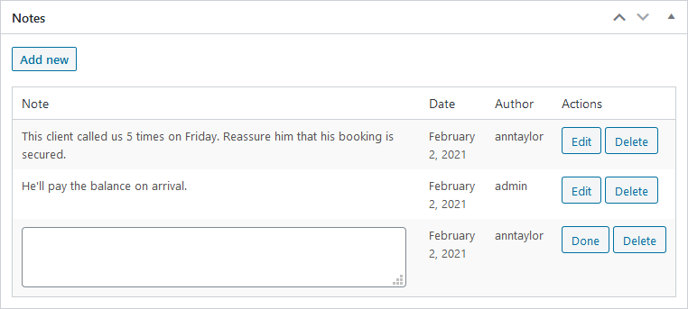 notes hotel booking plugin motopress
