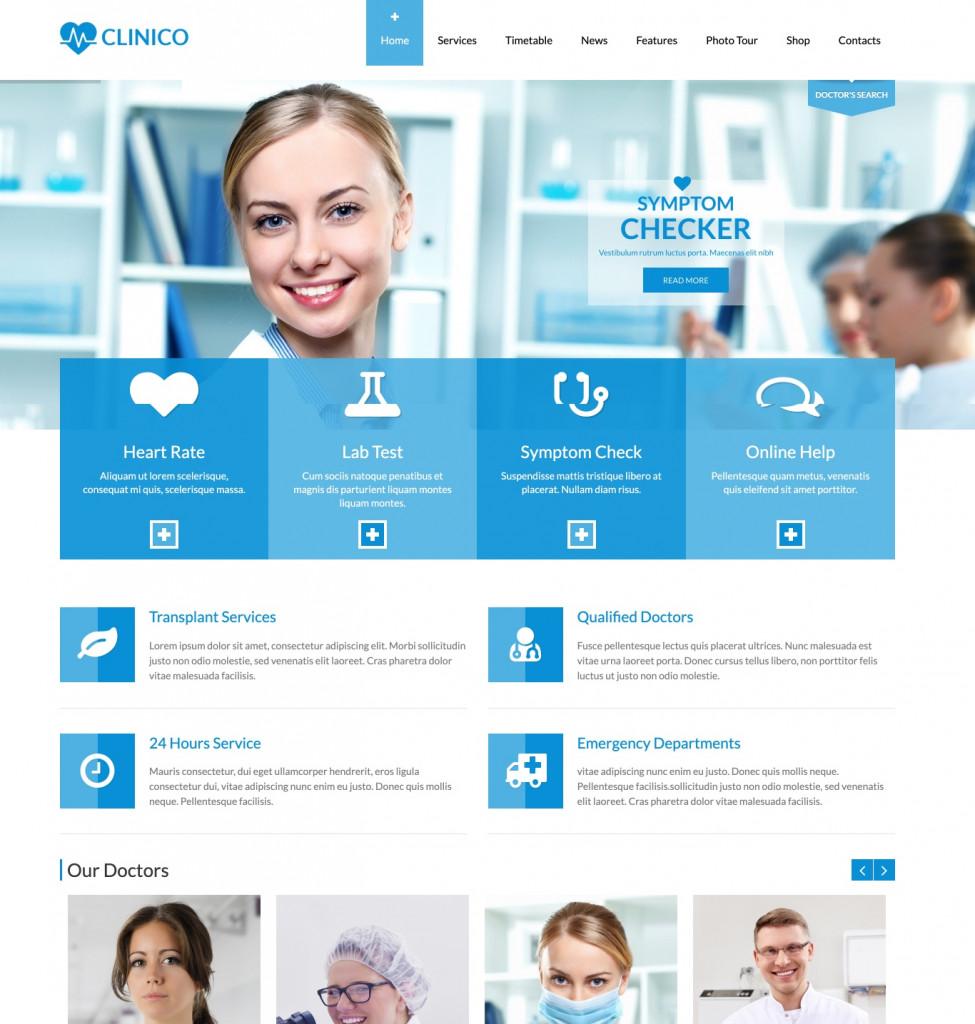 Clinico - WordPress Health Theme