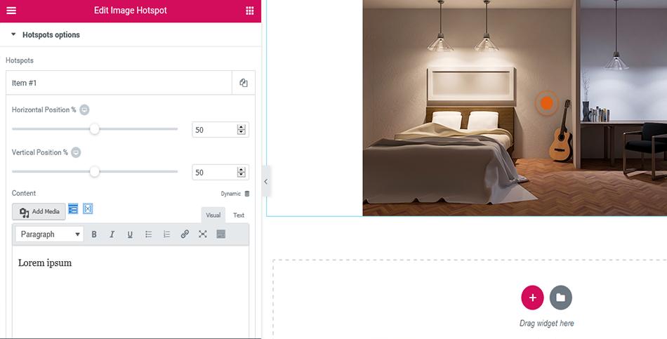 Image Hotspot Widgets for Elementor