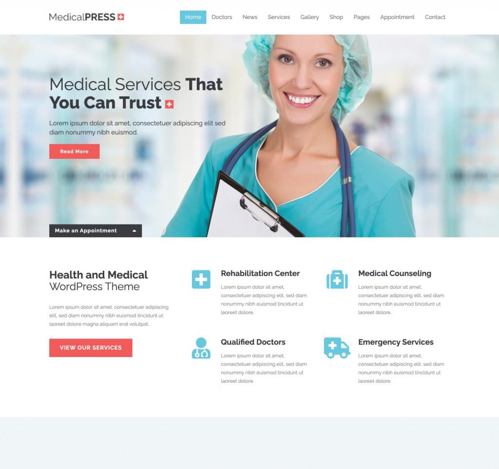 MedicalPress - WordPress Health Theme
