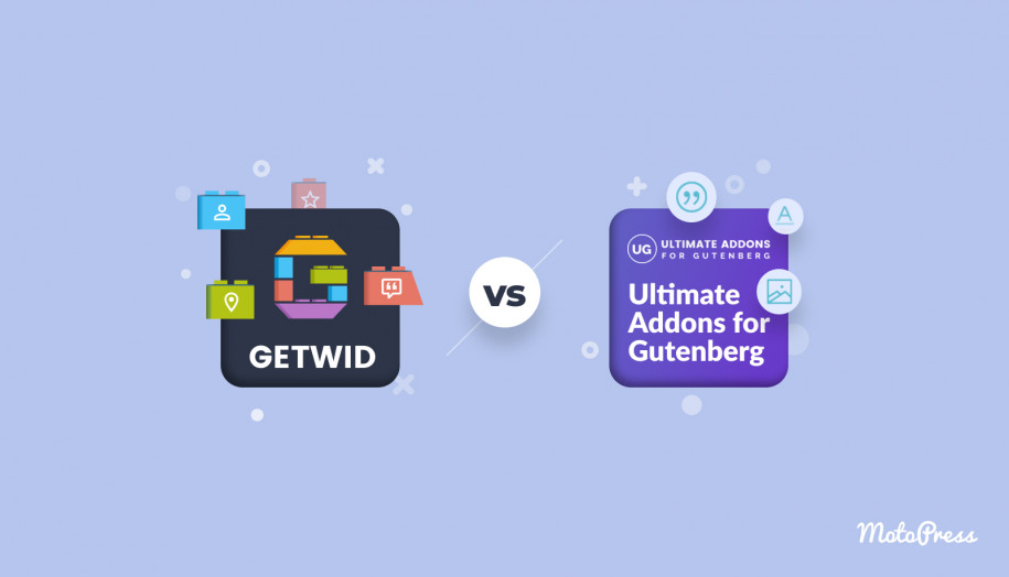 ultimate addons for gutenberg and getwid compared