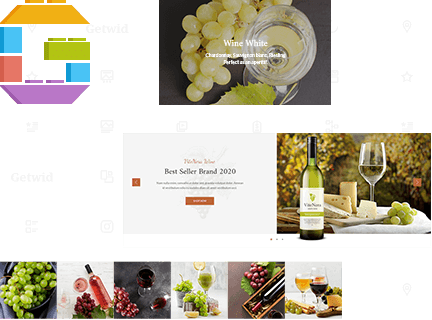 Wine Lists, Product Sliders & More with Getwid